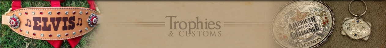 trophy tack and custom orders banner